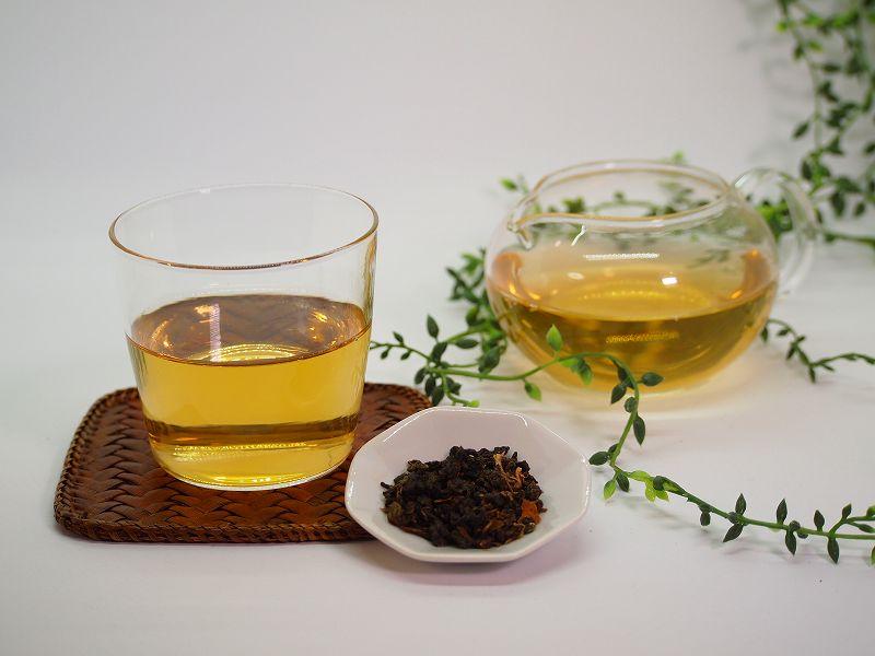 桃のウーロン茶