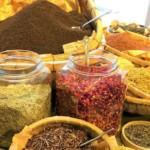 原料のハーブや茶葉
