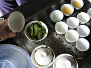 中国茶の茶葉