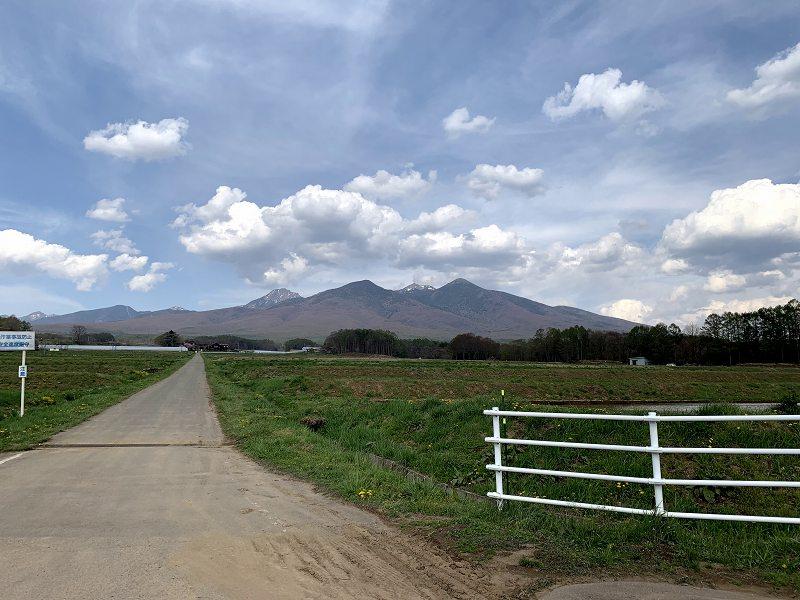 長野県の山々