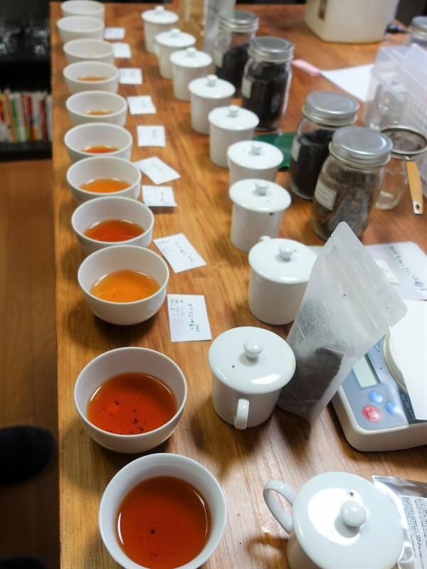 お茶飲み比べ