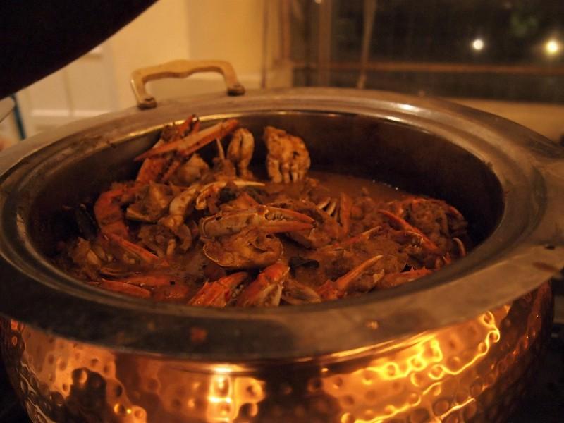 蟹のカレー