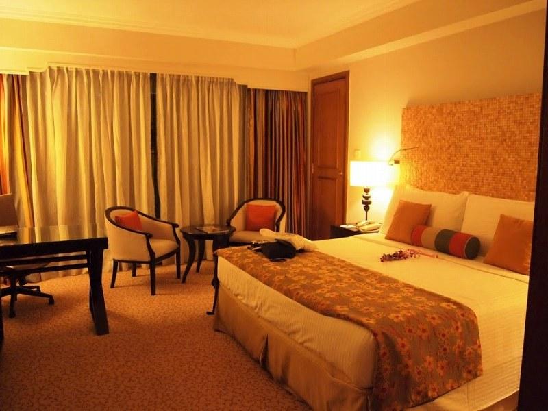 シナモングランドコロンボの内装 ベッド